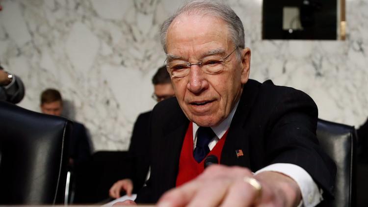 Senate Judiciary Committee Chairman Charles E. Grassley (R-Iowa) (Carolyn Kaster / Associated Press)