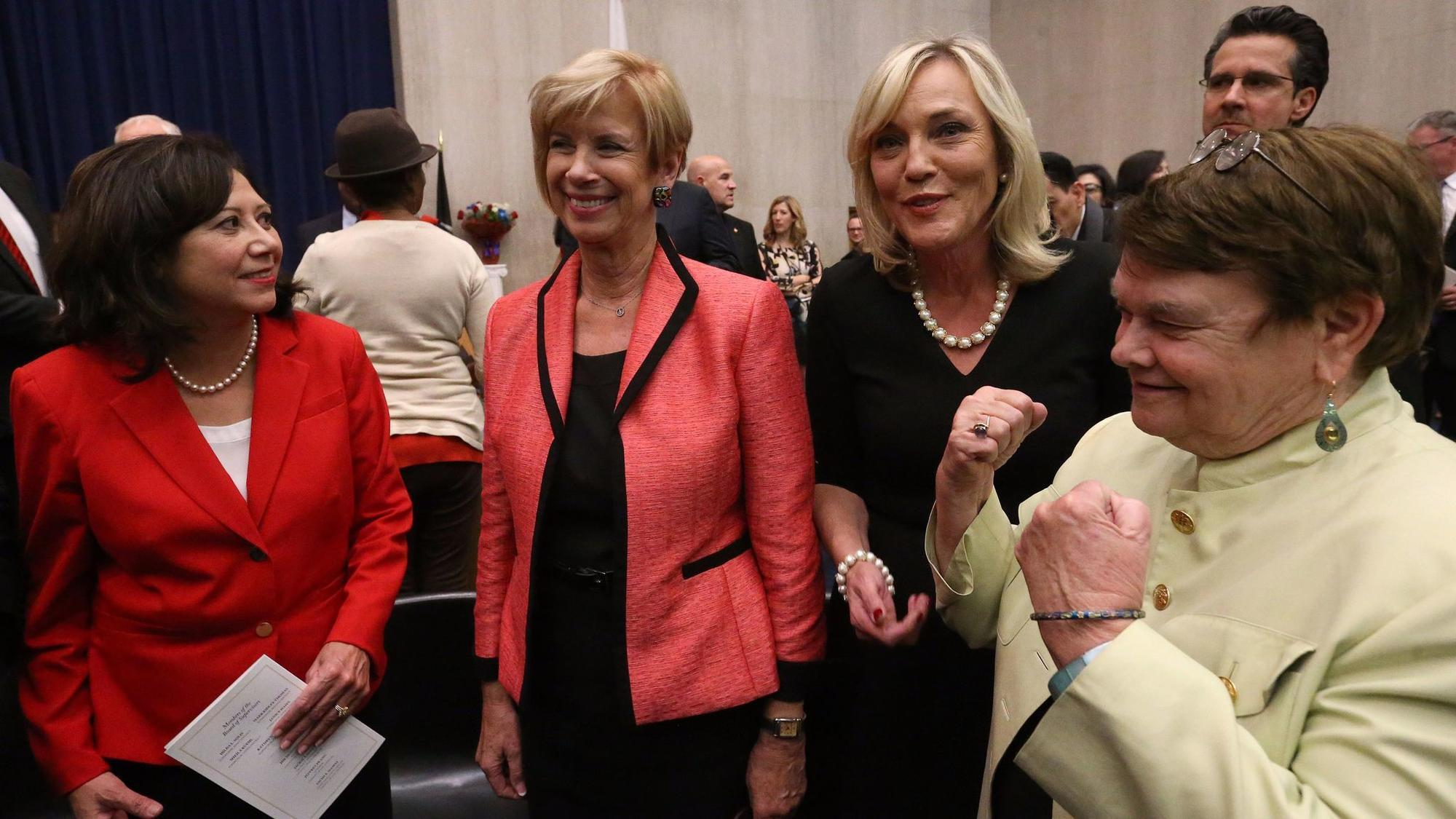 L.A. County leaders review sexual harassment policies