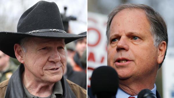 Democrat Doug Jones wins Alabama Senate seat, but Roy Moore won't concede