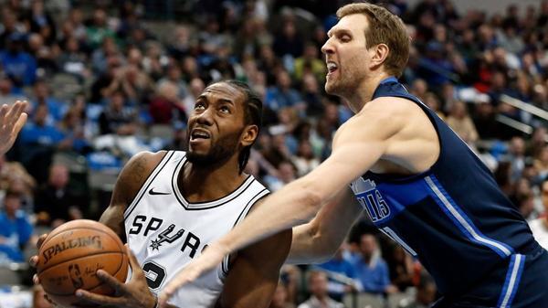 NBA roundup: Mavericks spoil Kawhi Leonard's return