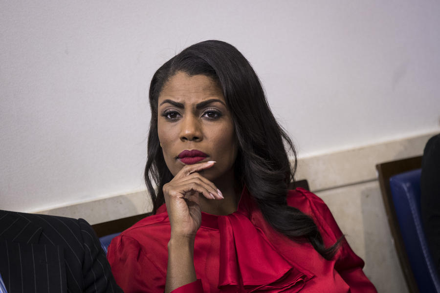 Omarosa Manigault Newman, director of communications for the White House Public Liaison Office, is reportedly stepping down. (Drew Angerer)