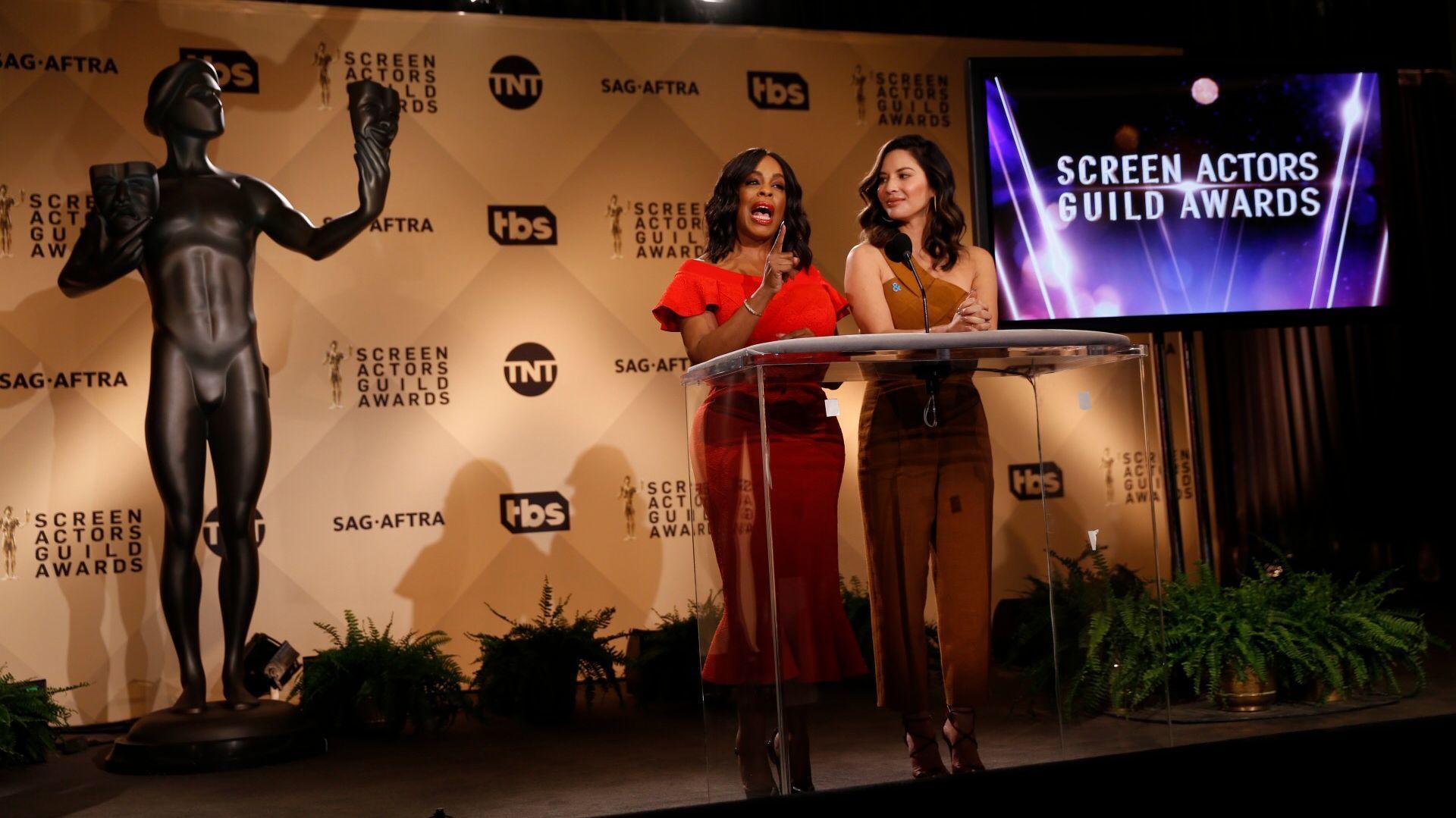 Resultado de imagem para sag awards 2018 nominees