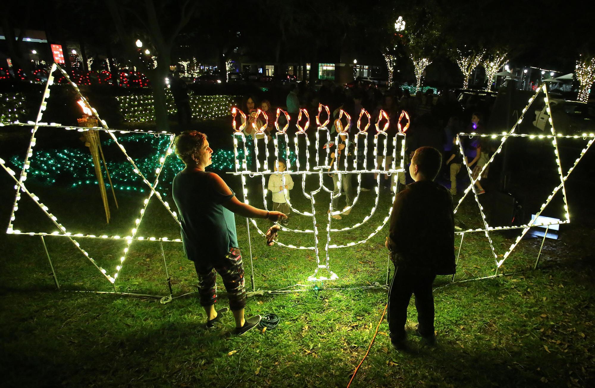 Winter Garden Celebrates Hanukkah Diversity Orlando