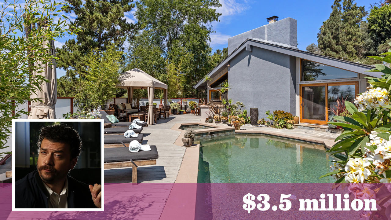 Danny McBride sells his gated compound in the Hollywood Hills for $3.5 million