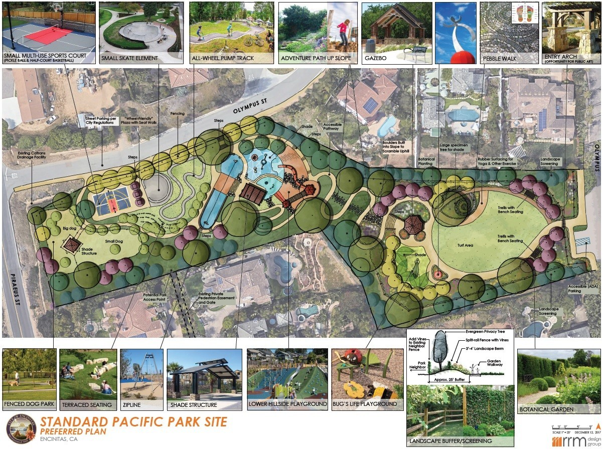 Preferred design of Standard Pacific Park