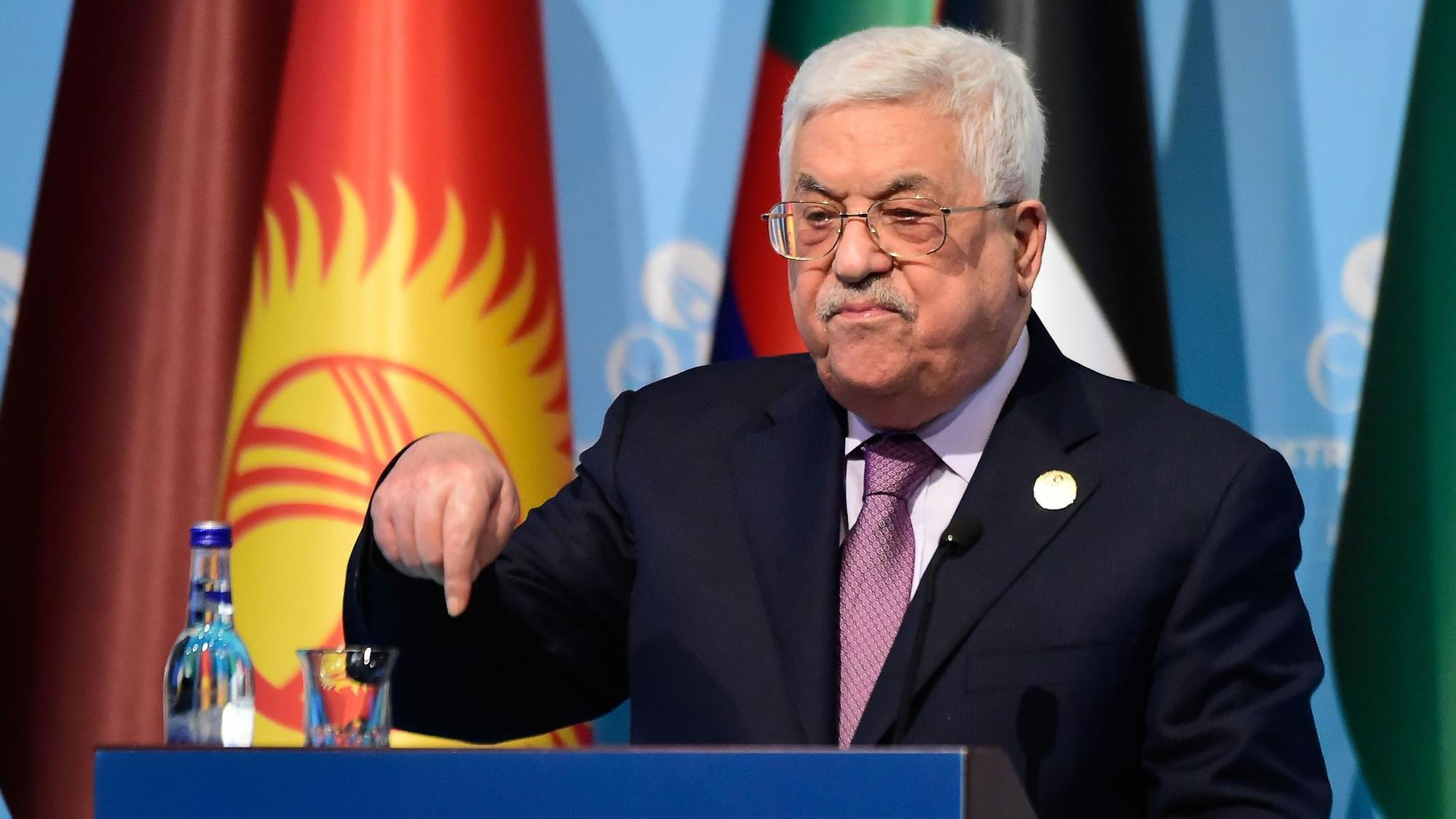 Palestinians no longer see role for U.S. in peace process, Abbas says