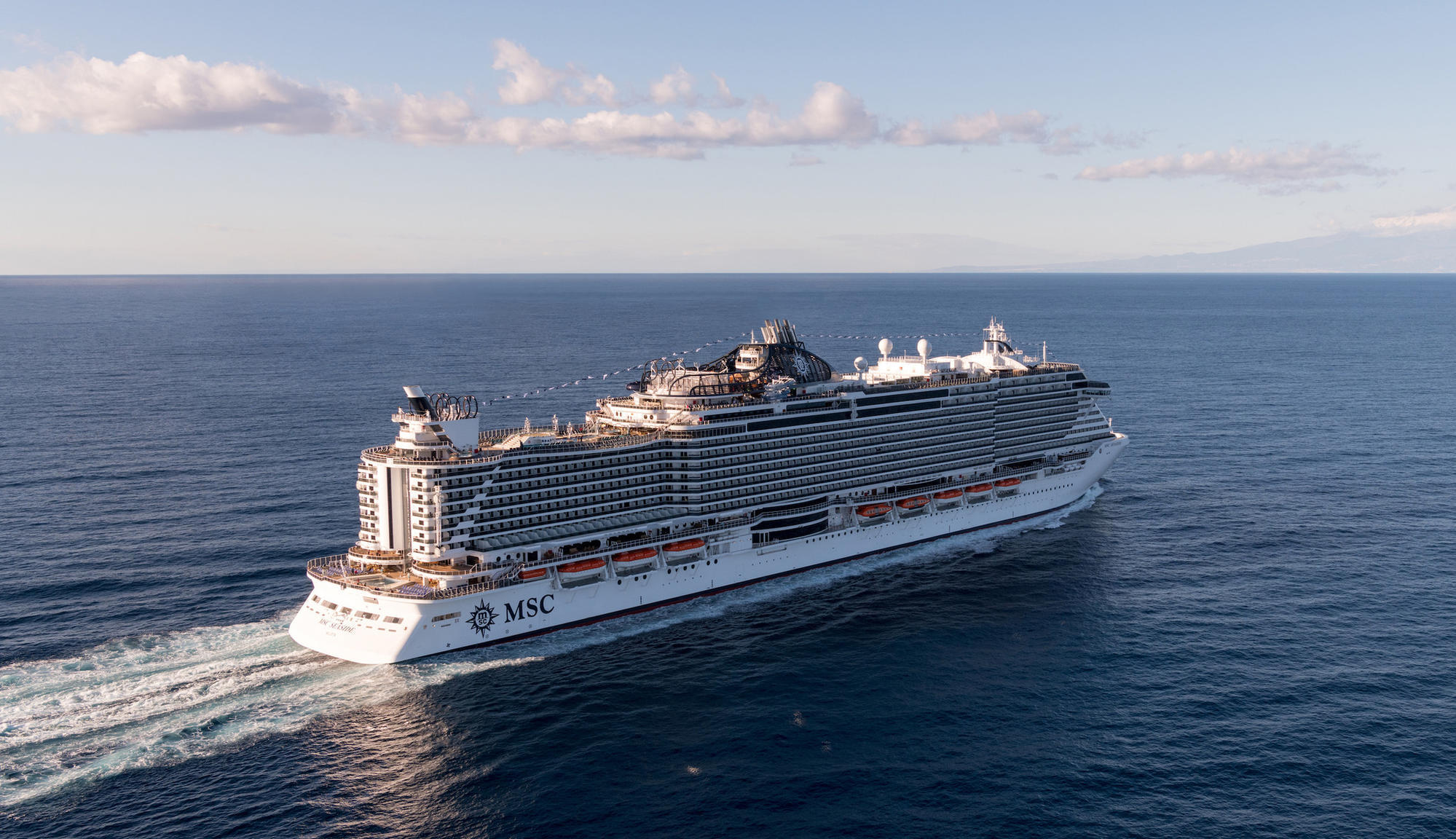 Singers Andrea Bocelli and Ricky Martin to perform at MSC Seaside's naming party