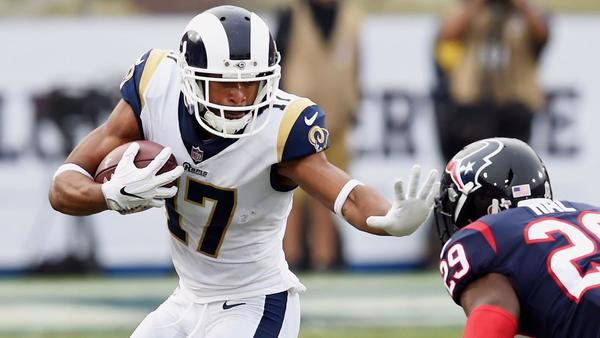 Back from injury, Rams' Robert Woods is ready to help shoulder the receivers' load