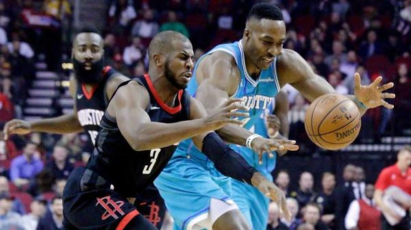 NBA roundup: Chris Paul lifts Rockets to 11th straight victory