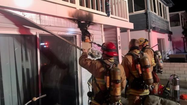 Crews Knock Down Early Morning Fire At Balboa Peninsula