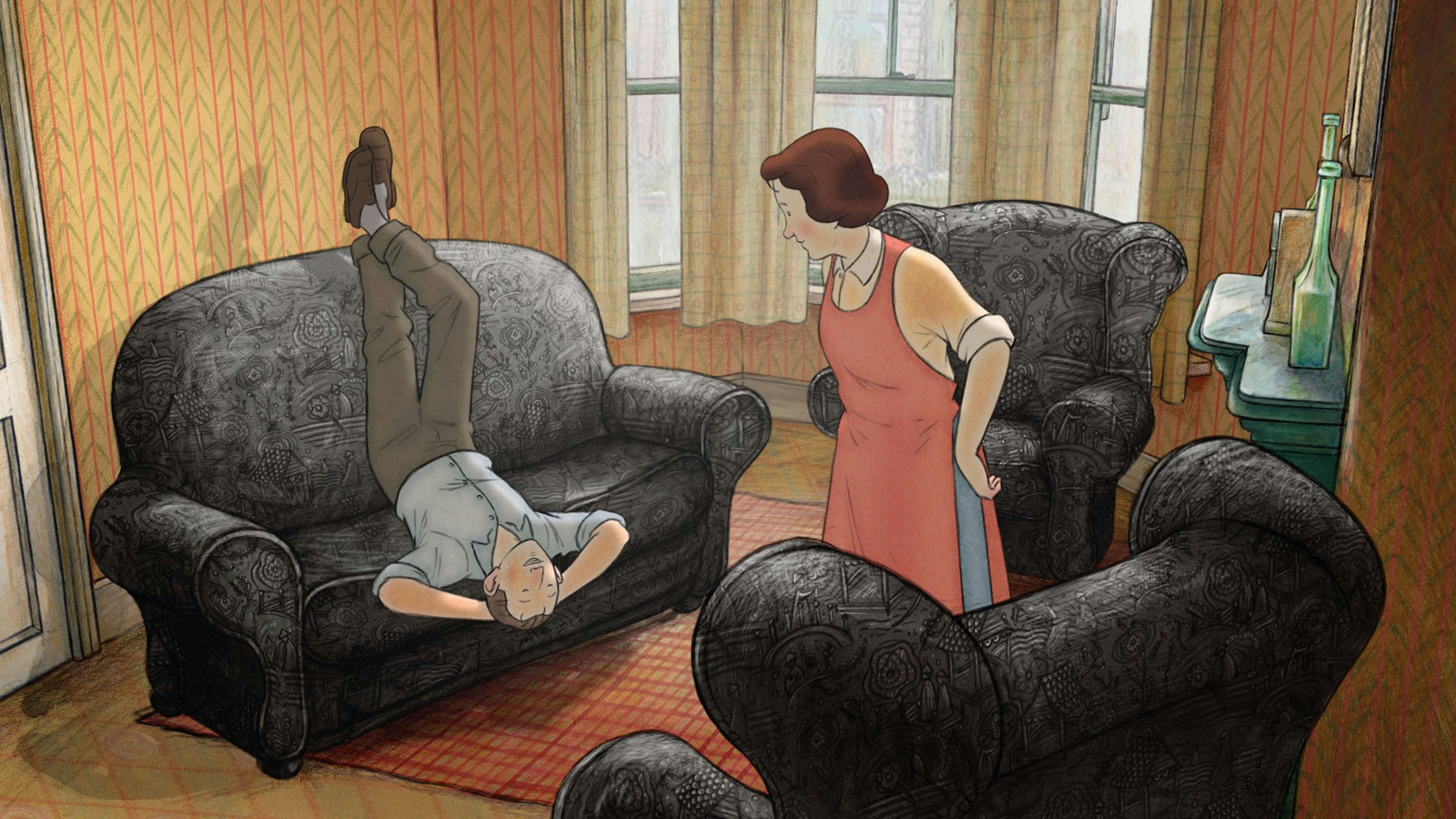 Working-class Brits keep calm and carry on in animated 'Ethel & Ernest'