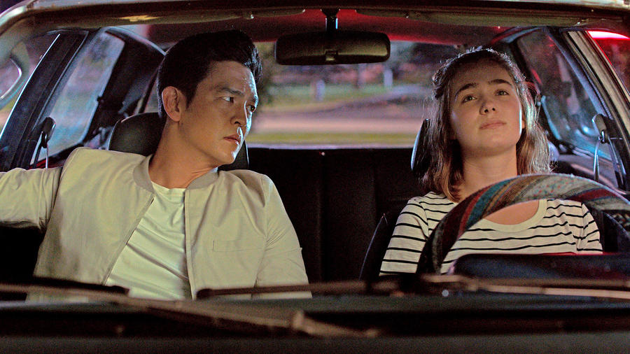 """John Cho and Haley Lu Richardson in Justin Chang's choice for best feature debut, """"Columbus."""" (Elisha Christian / Superlative Films / Depth of Field)"""