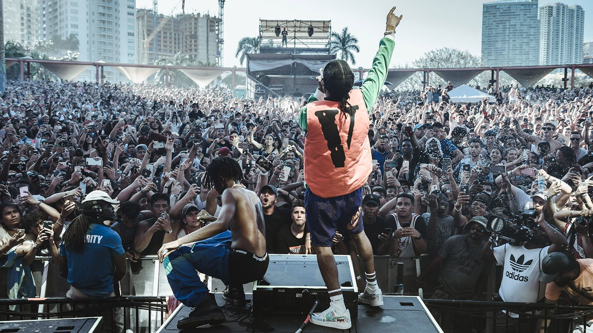 Rolling Loud and the new look of the hip-hop festival: The Playboi Carti and A$AP Rocky in performance at Rolling Loud, Miami, 2017. (Aaron Ricketts / Rolling Loud)