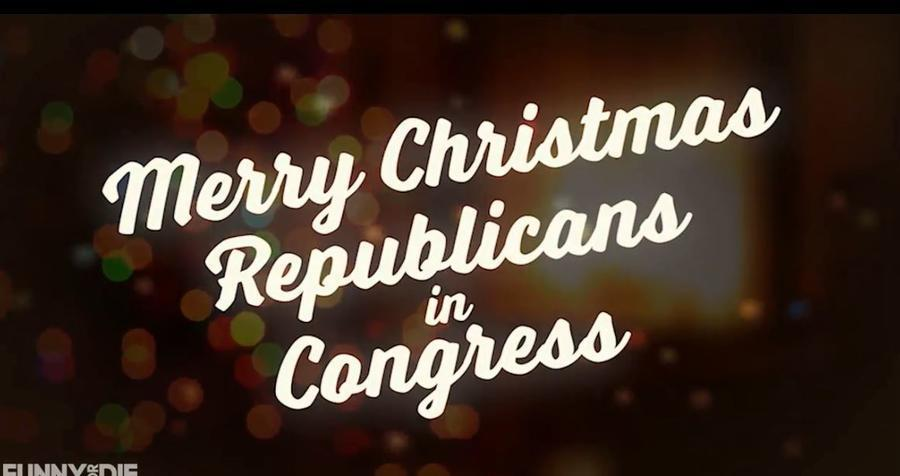 'Merry Christmas Republicans in Congress': Funny or Die video goes after California lawmakers over DACA