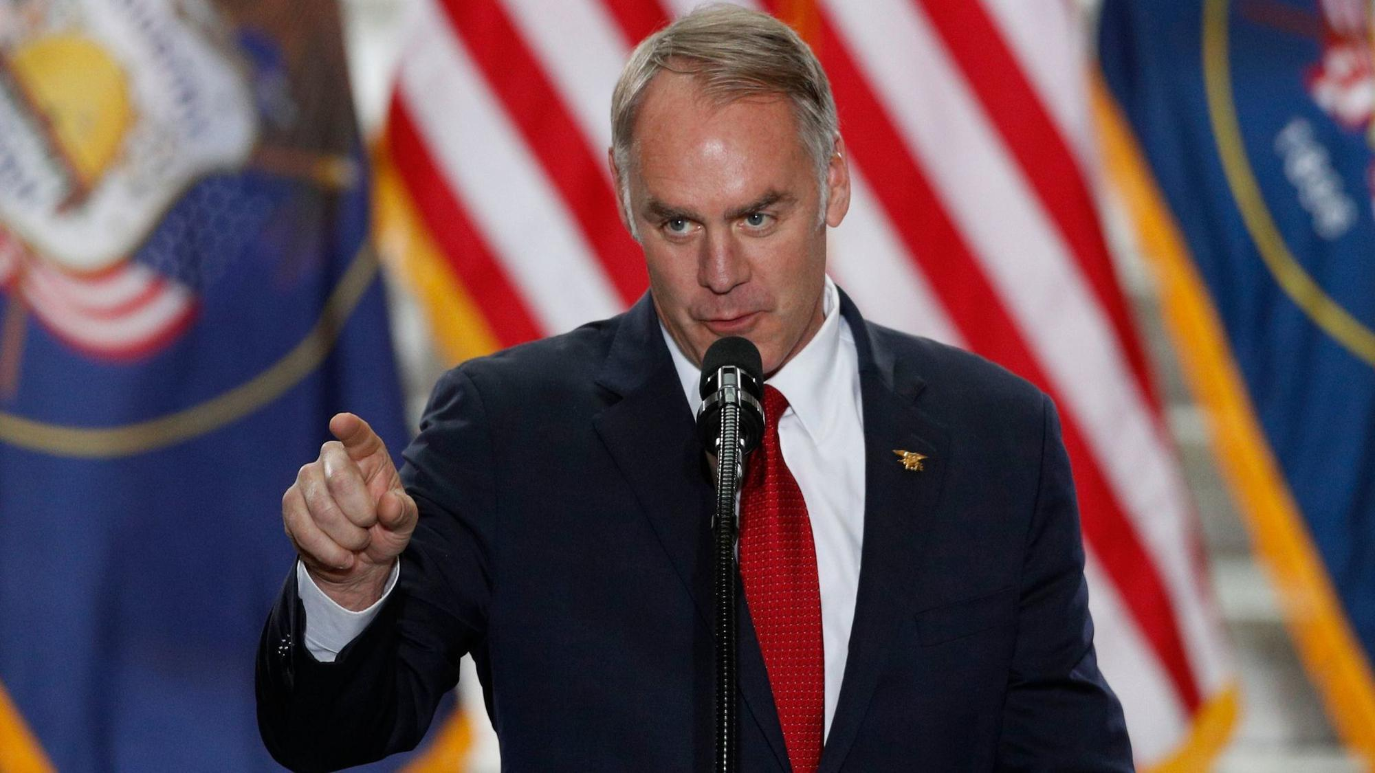 Interior Secretary Zinke reportedly dressed down Joshua Tree superintendent over climate change tweets