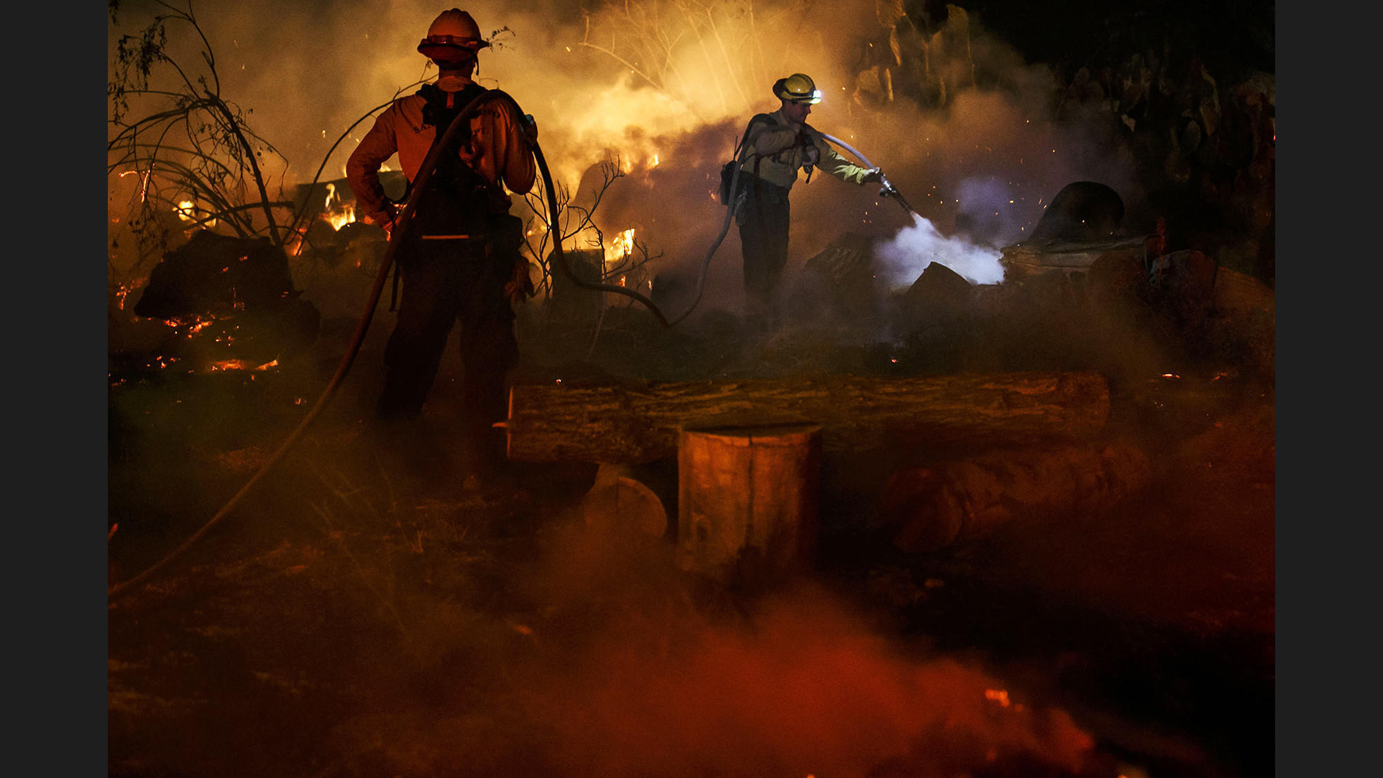 Lessons from disastrous wine country fires helped in battling Southern California infernos