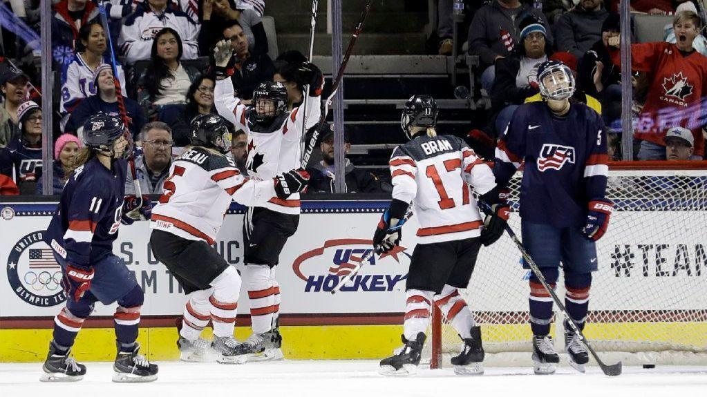 Lack of scoring a worry for U.S. women's hockey team as Olympics approach