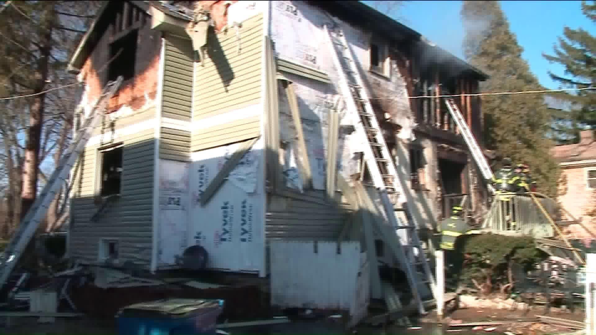 Christmas tree fire guts Lisle home, sends family to hospital