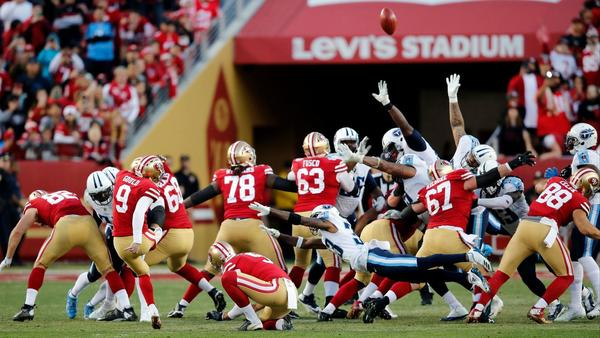 Ex-Bear Robbie Gould nails game-winning field goal as time expires to lift 49ers