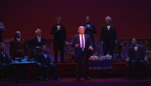 Disney: Trump set for Hall of Presidents debut