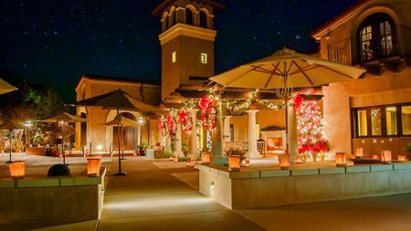 christmas eve worship at the village church lights up rancho santa fe