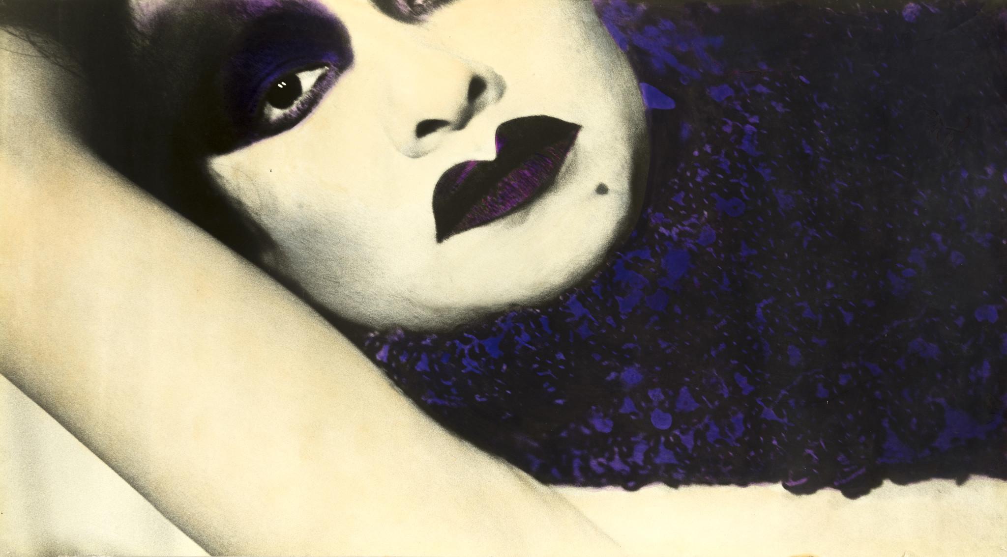 Portrait of Sylvia Delgado by Patssi Valdez