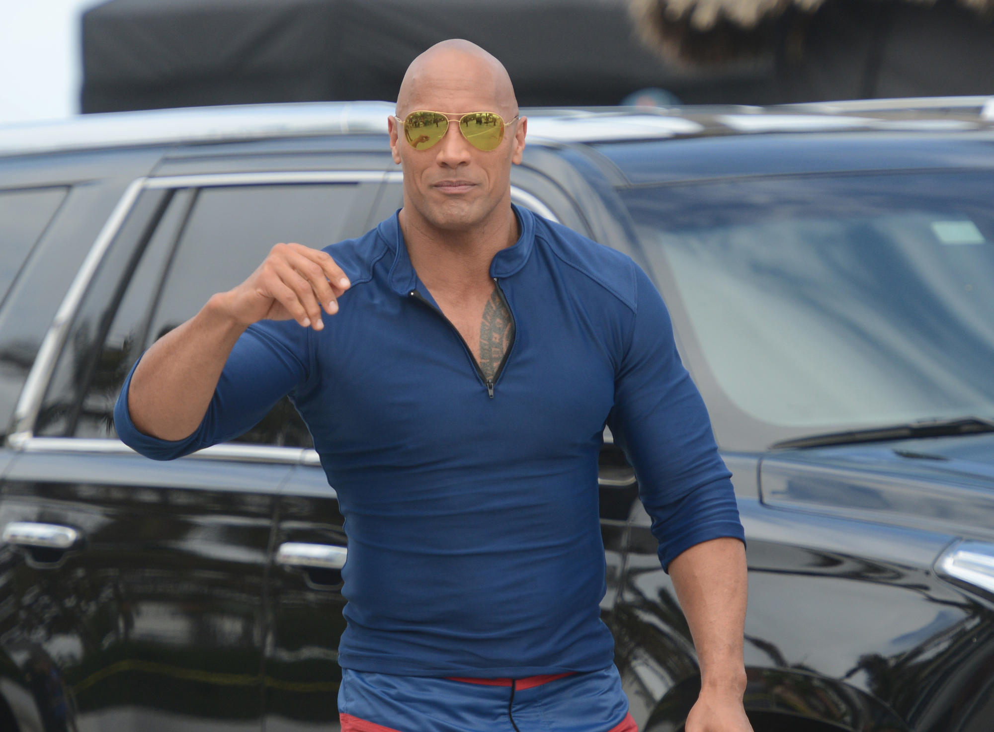 Dwayne 'The Rock' Johnson says he's seriously thinking about running for president in 2020