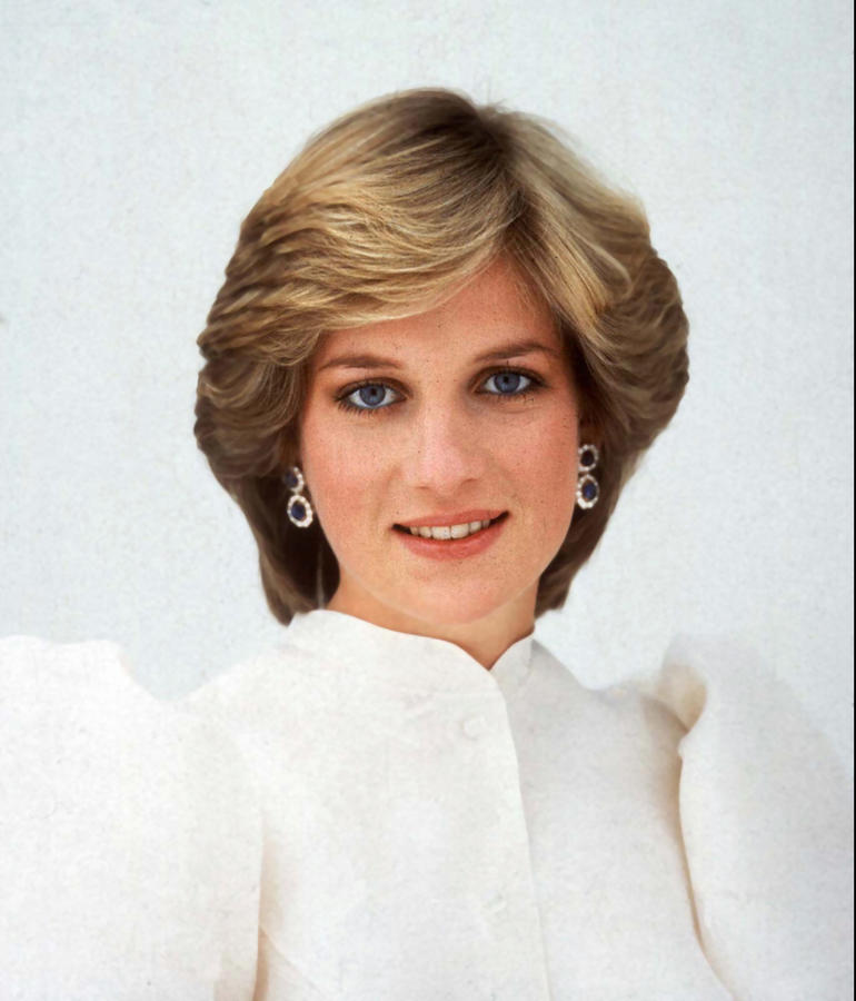 Diana, Princess of Wales, seen in this portrait by Lord Snowdon taken in 1982. (Associated Press)