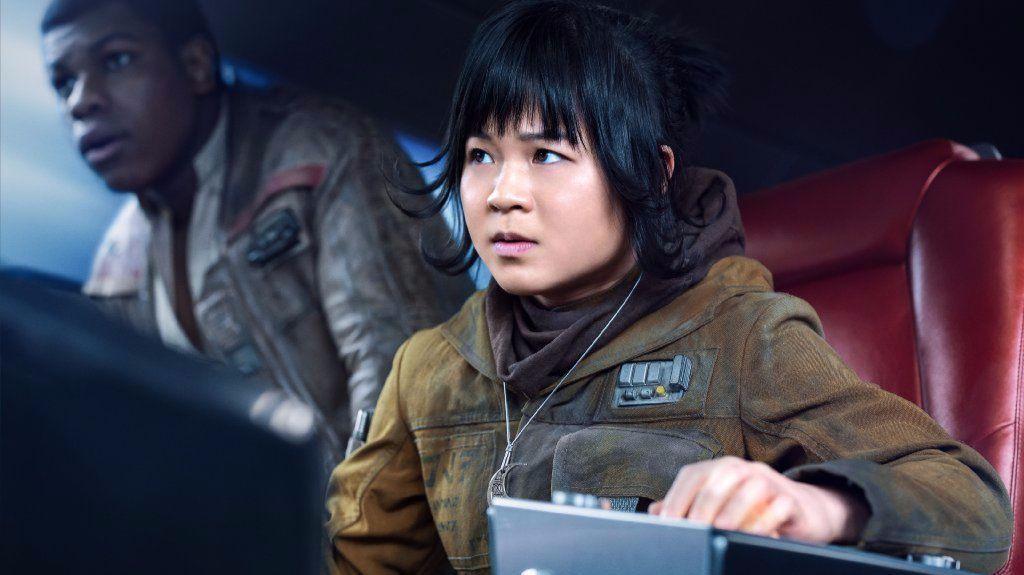 "Kelly Marie Tran stars as Rose in ""Star Wars: The Last Jedi"""