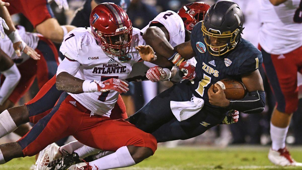 Boca Raton Bowl: Lane Kiffin and Florida Atlantic leave no doubt, beat Akron 50-3
