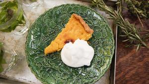 Meyer lemon tart