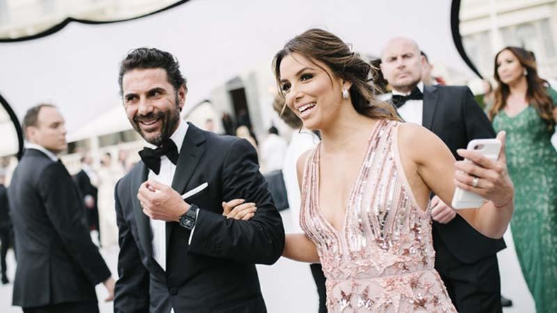 Actress Eva Longoria and husband José Bastón are expecting a baby. (Gareth Cattermole / Getty Images)