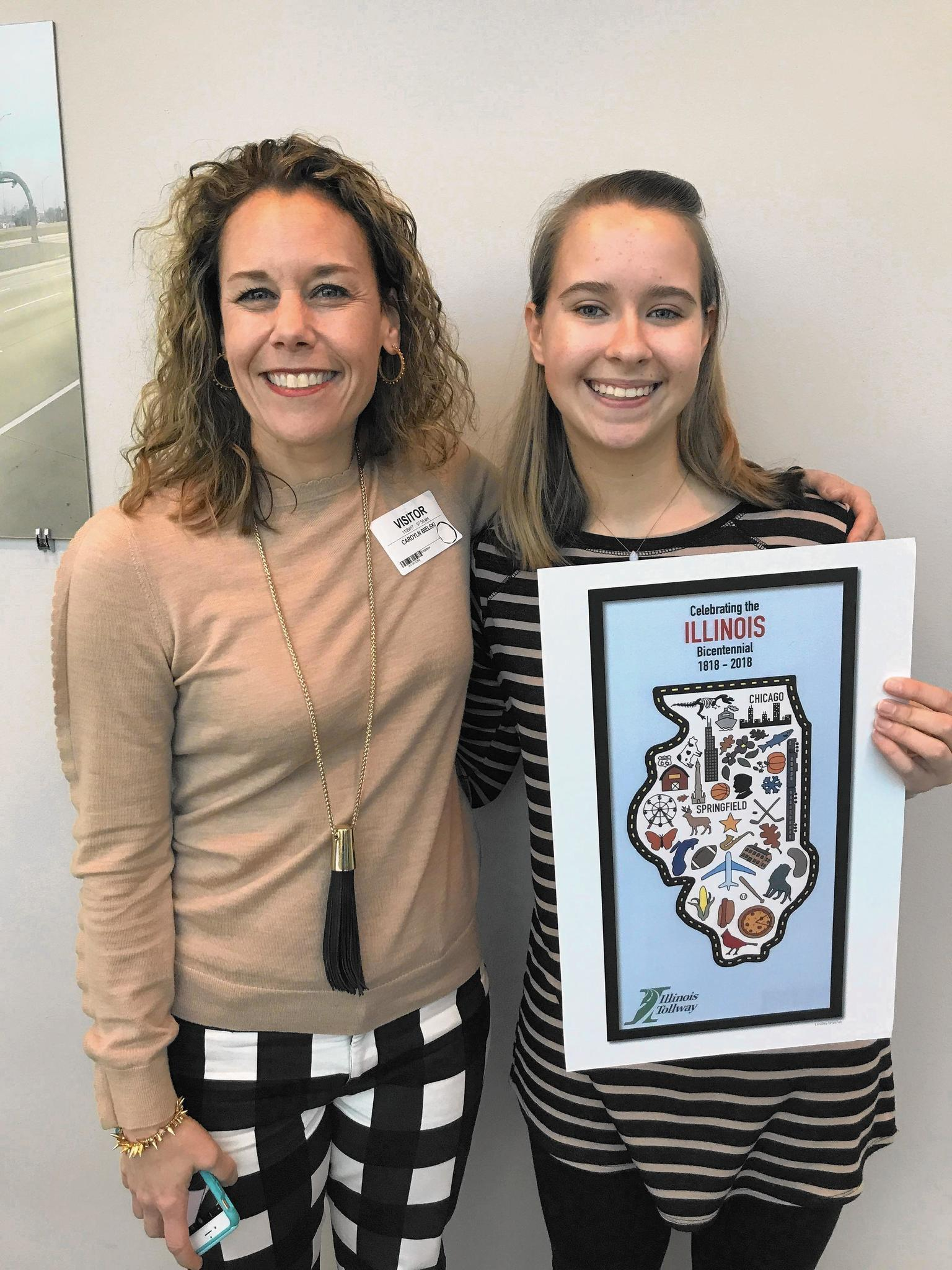 Lake Forest High School student wins Illinois Tollway Map Cover Art Contest