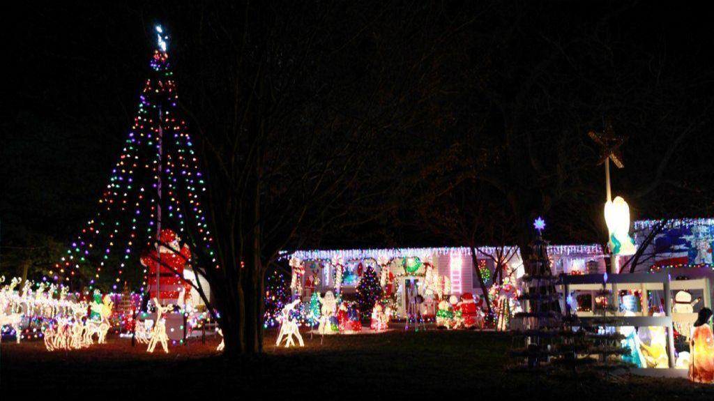 around pasadena christmas house still growing after three decades capital gazette
