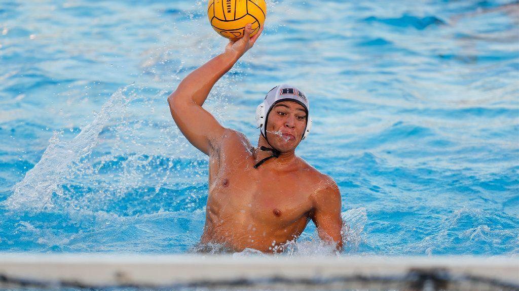 Huntington Beach boys' water polo player Garrett Zaan