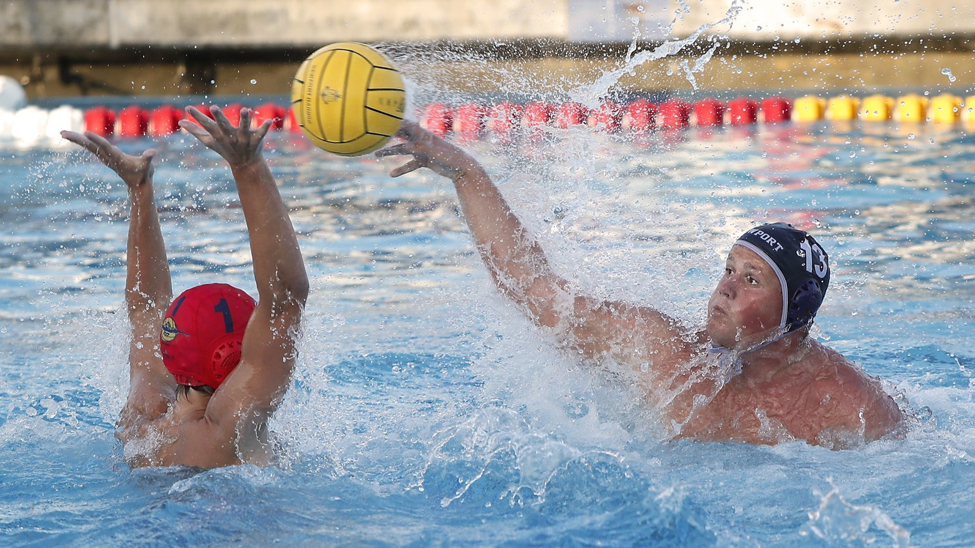 Newport Harbor boys' water polo player Jackson Westerman