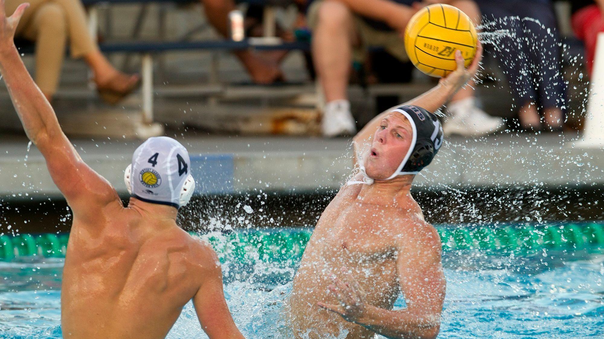 Huntington Beach boys' water polo player Jacob Cavano