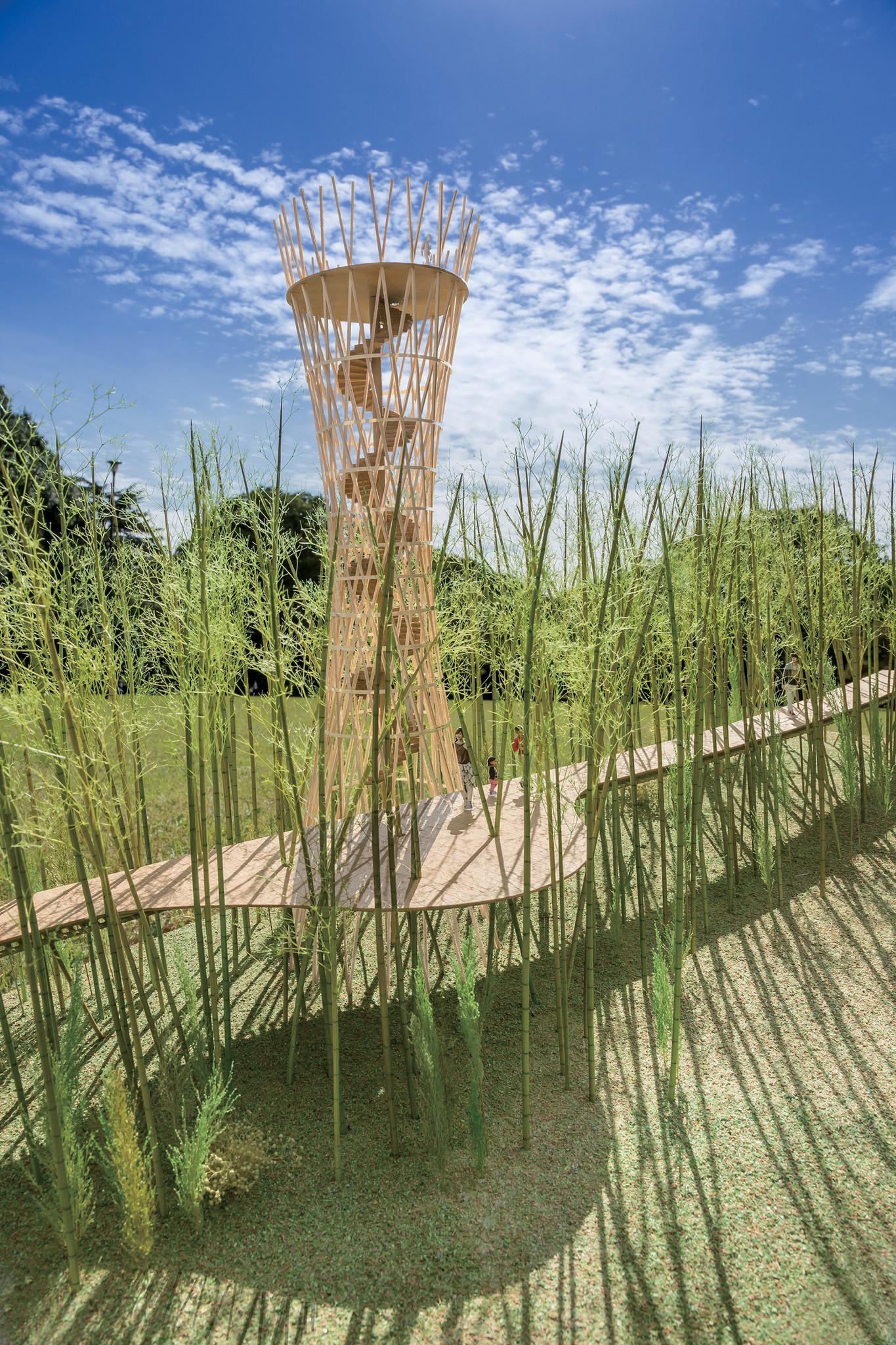 Jae-Eun Choi and Shigeru Ban's 2016 Venice Architectural Biennale proposal