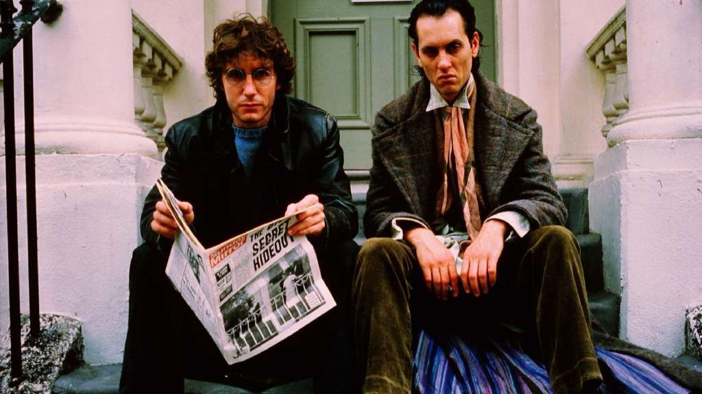 "Paul McGann and Richard E. Grant in ""Withnail and I,"" a movie that puts a lump in Christopher Nolan's throat."