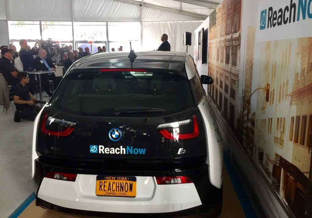 With The ReachNow App You Can Order Up A Ride In A BMW Or Mini - Car show app