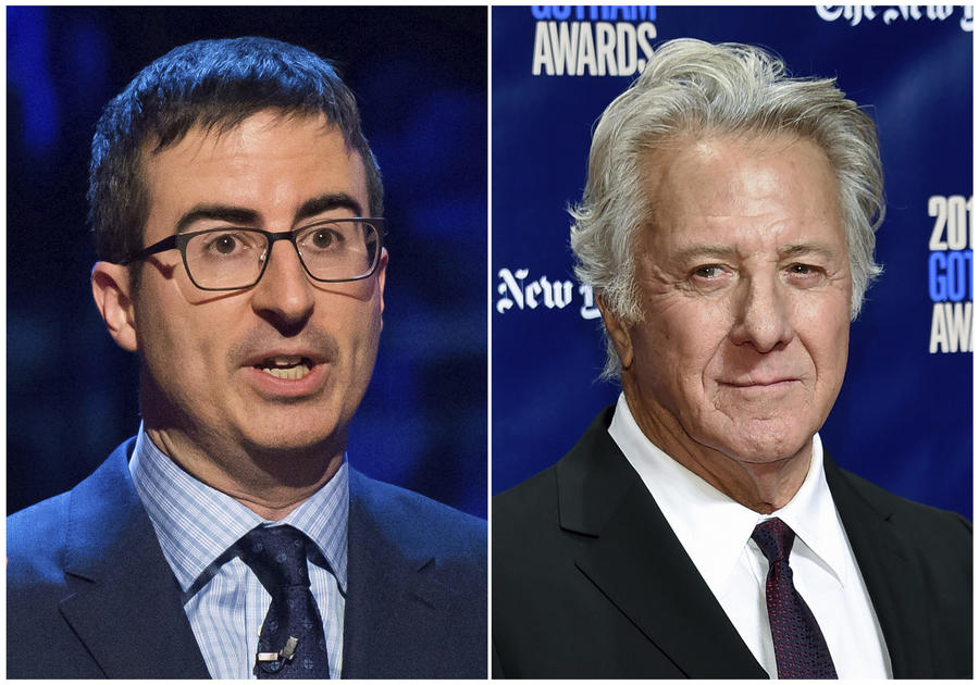 John Oliver talks Dustin Hoffman abuse allegations and questioning for first time