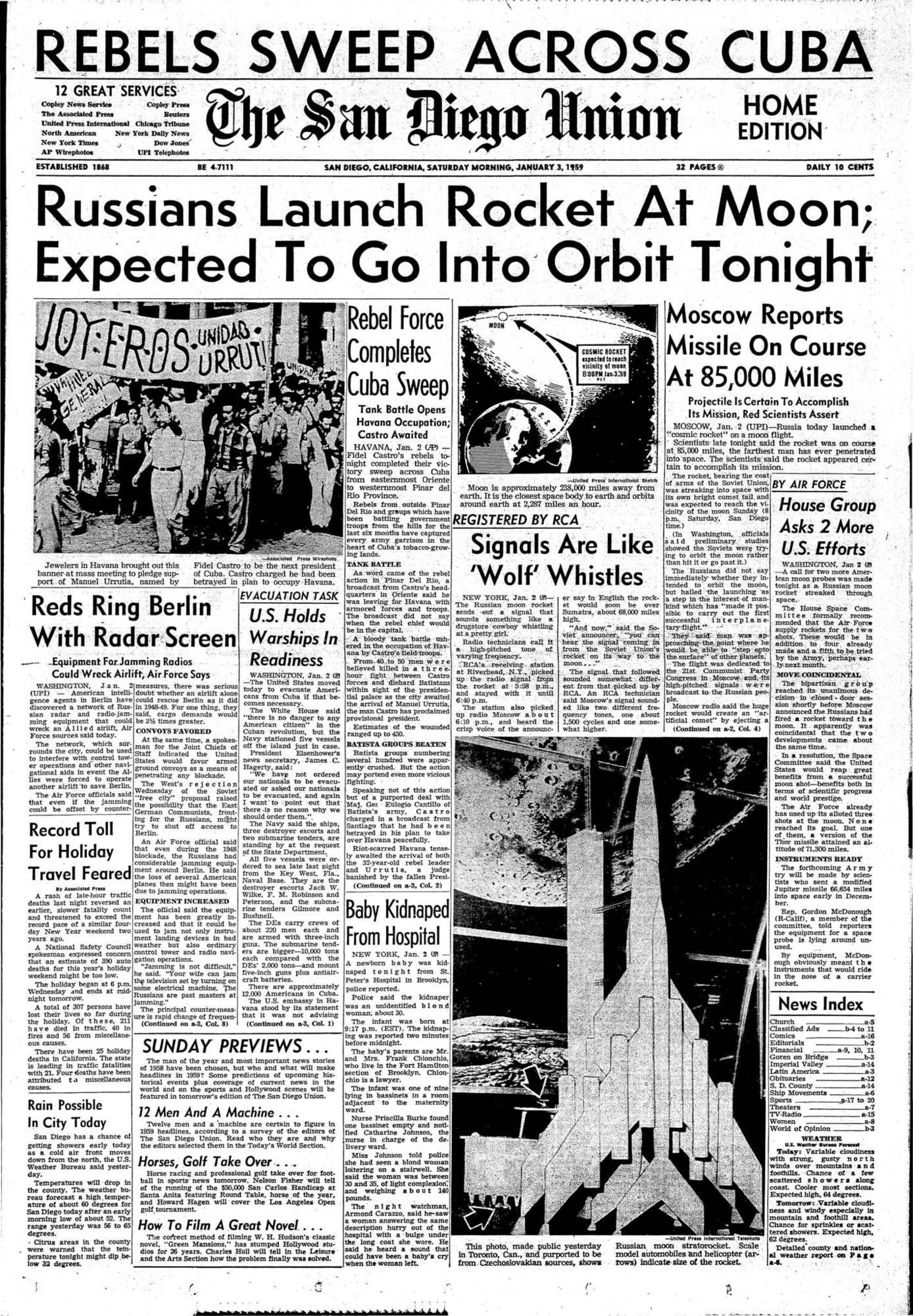 Rocket Union: description, history, launch and interesting facts 98