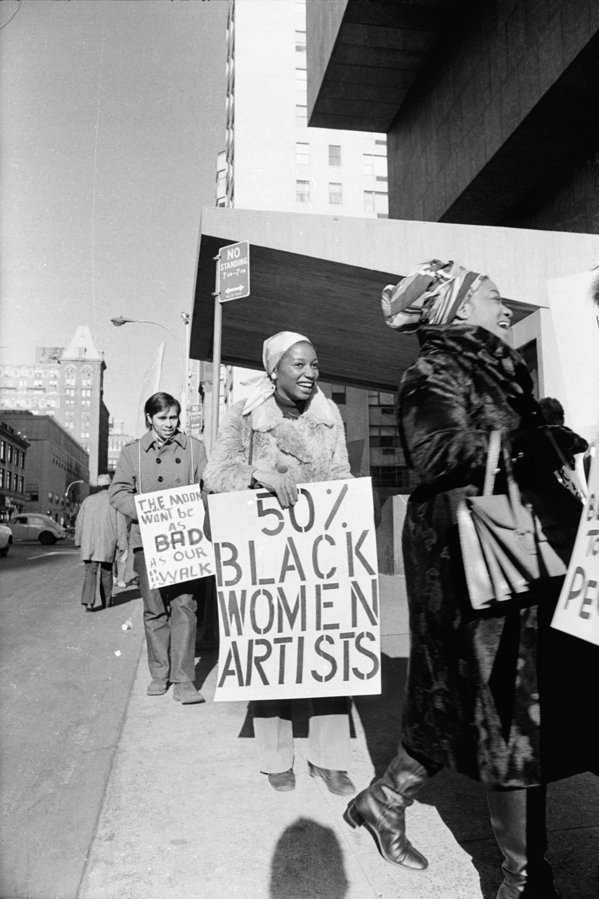 Art Workers Coalition protest at the Whitney Museum in 1971