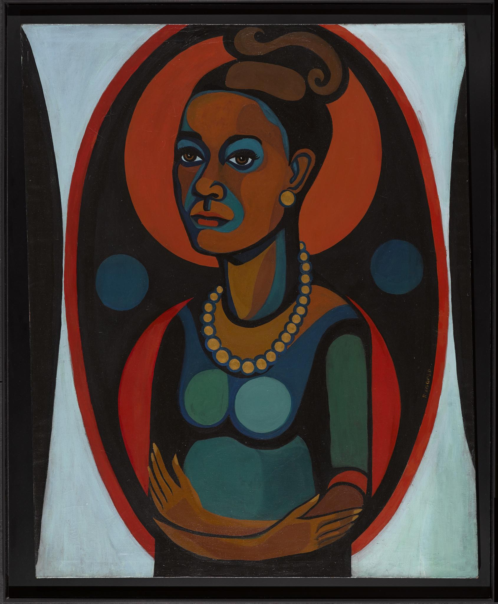 Faith Ringgold Self Portrait
