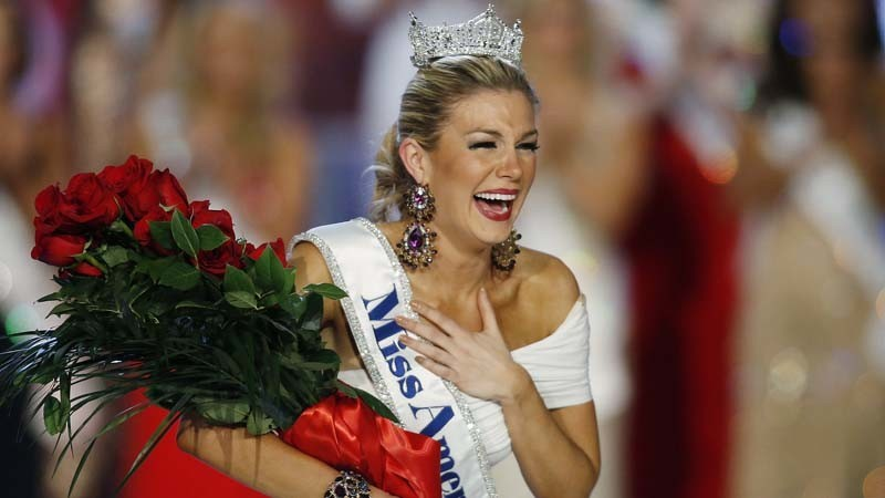 Mallory Hagan, Miss America 2013. (Isaac Brekken / Associated Press)