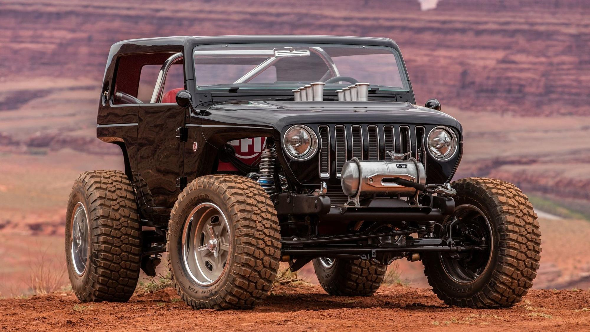 Jeep Quicksand rooster tail churning power The San Diego Union