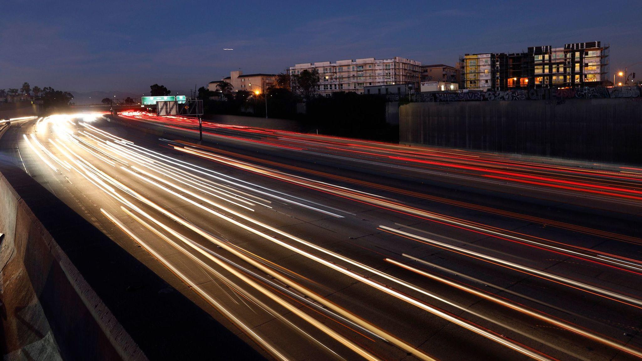 Freeway pollution