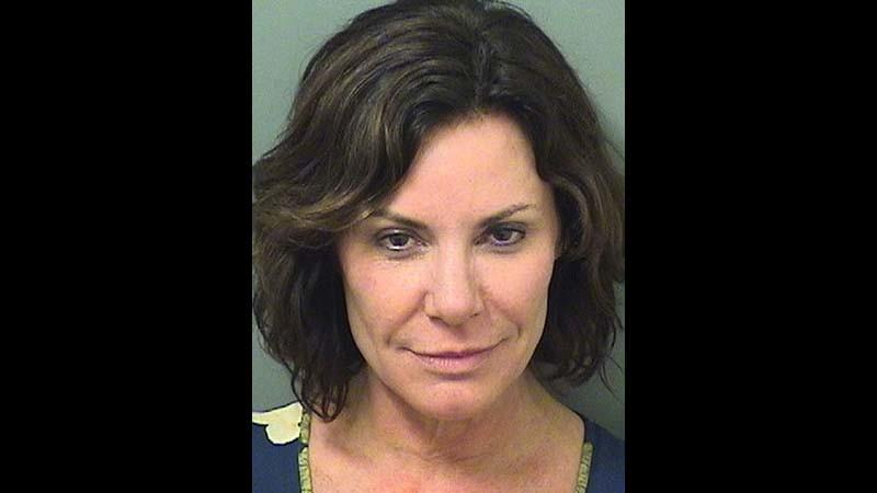 Luann de Lesseps' Christmas weekend booking photo. (Palm Beach County Sheriff's Office via Associated Press)