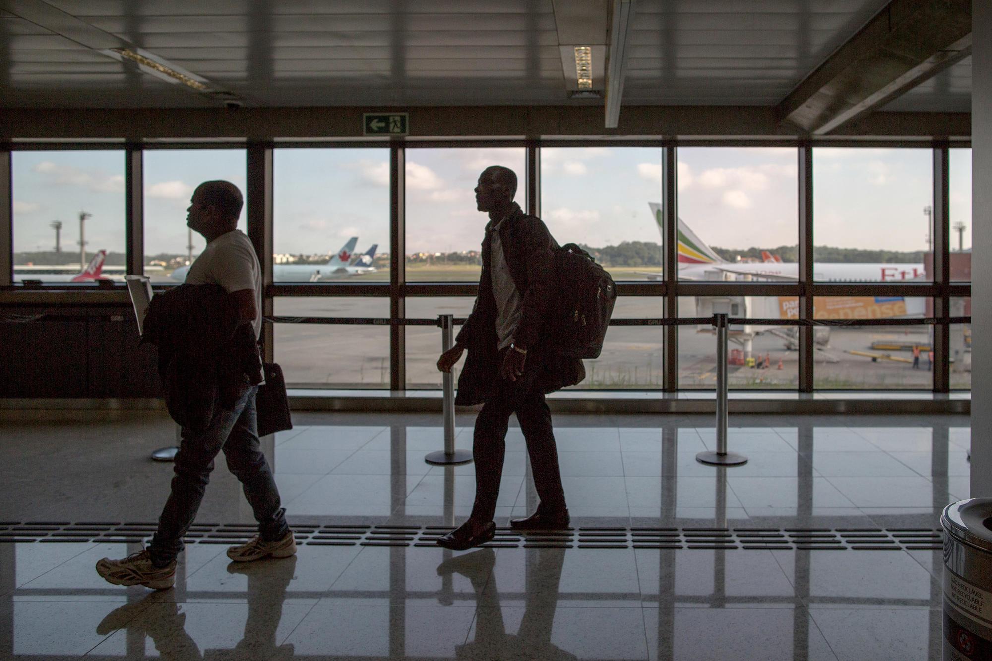 Drug traffic at Guarulhos International Airport
