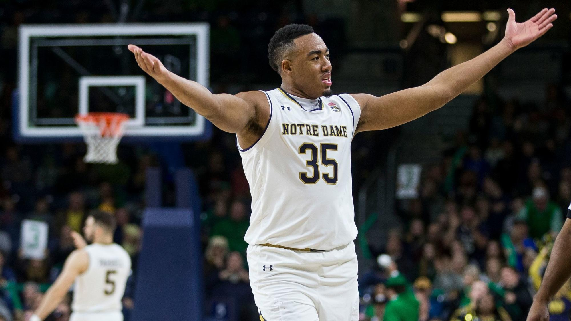 Notre Dame forward Bonzie Colson out 8 weeks with foot fracture - Chicago Tribune
